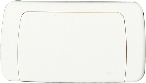 Placca HIDROBOX MONO bianco
