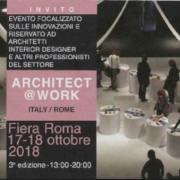 architect work 2018